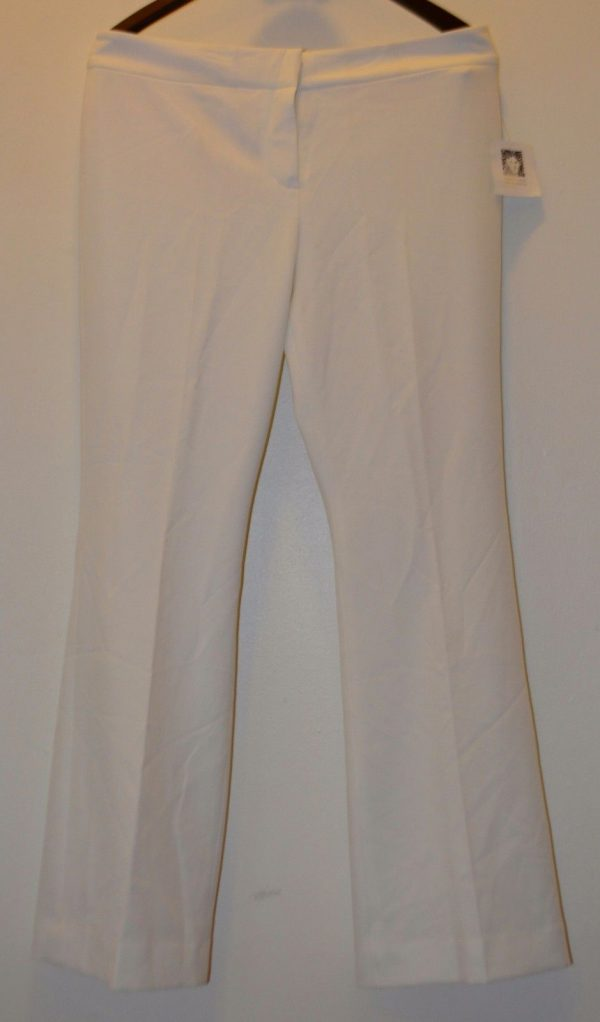 ANNE KLEIN Ivory Suit Separate Pant