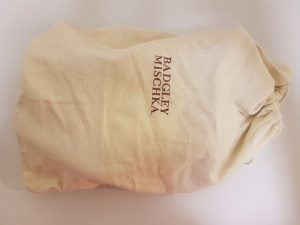BADGLEY MISCHKA dust bag