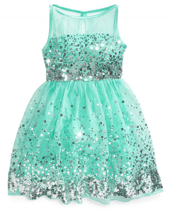 Crystal Doll Sequin aqua