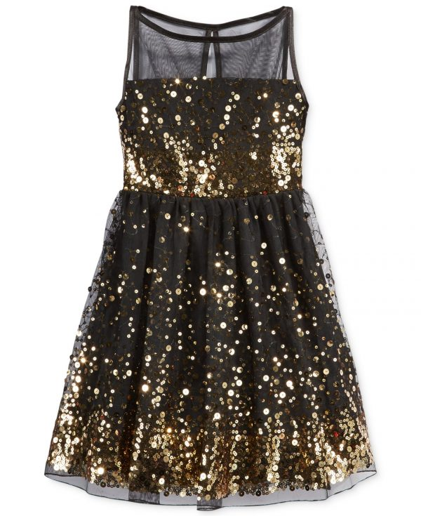 Crystal Doll Sequin black