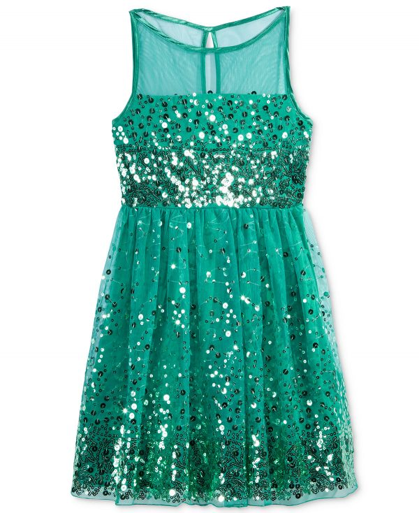 Crystal Doll Sequin emerald