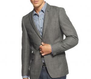 DKNY Slim Fit Blazer SLIDER