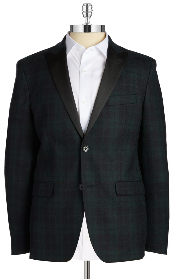 RALPH LAUREN Navy Green Blazer