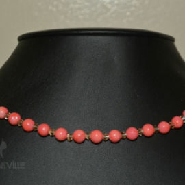 Coral Single Strand Necklace